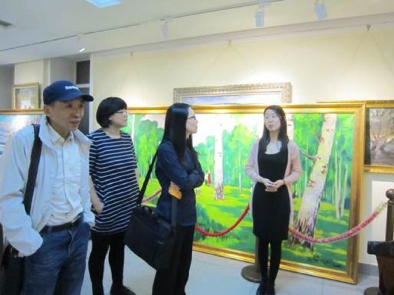 哈尔滨国际油画交易中心项目调研工作顺利结束