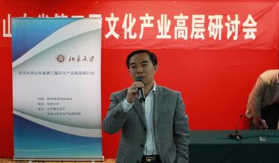 北京大学山东省文化产业高层研讨会